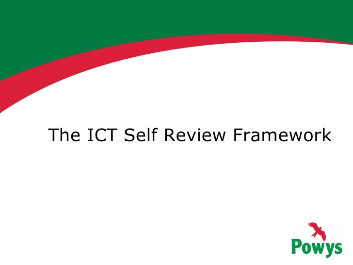 The ICT Self Review Framework