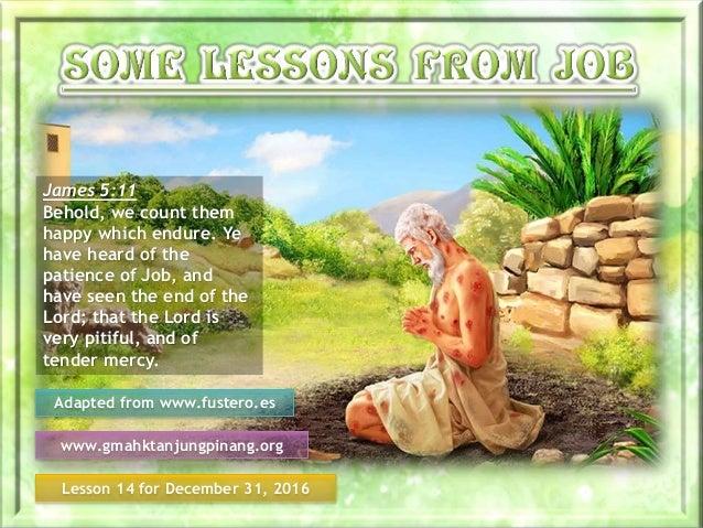 job bible, on job information lesson 14