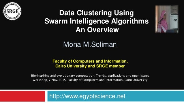 Overview of algorithms for swarm intelligence
