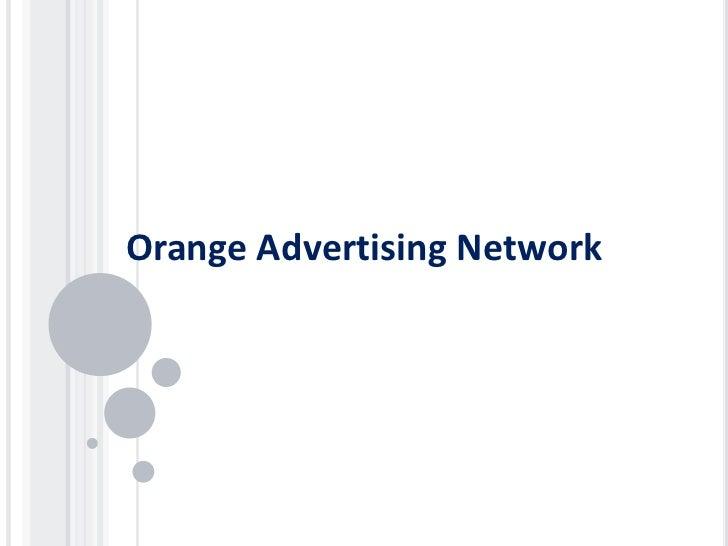 Orange Advertising Network