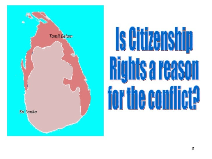 Is Citizenship  Rights a reason for the conflict?