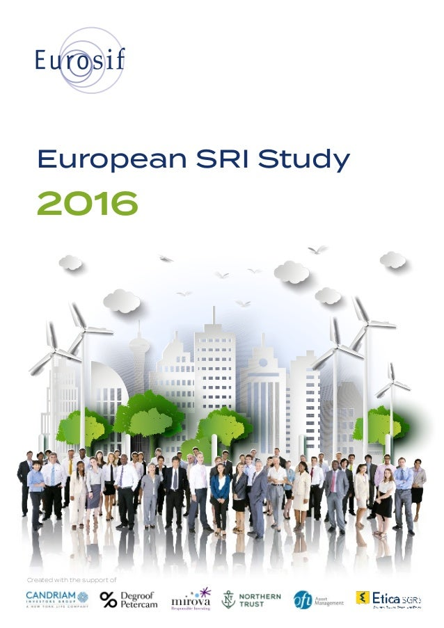 European SRI Study 2016 Created with the support of