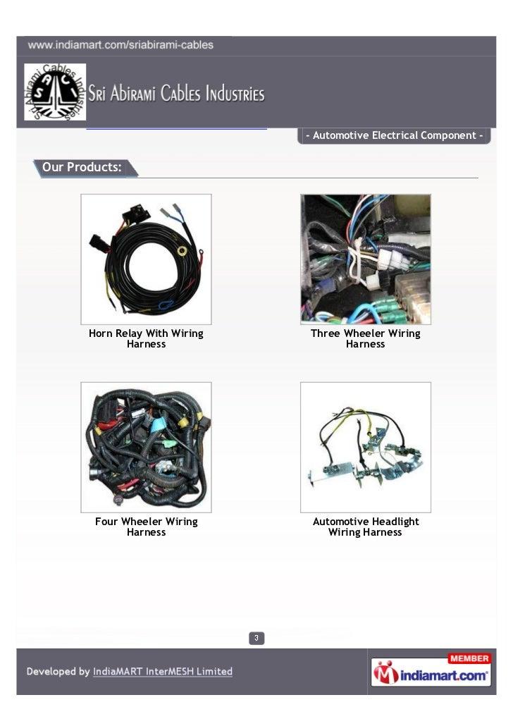 sri abirami cables industries hosur automotive electrical component 3 728?cb=1329354070 sri abirami cables industries, hosur, automotive electrical component