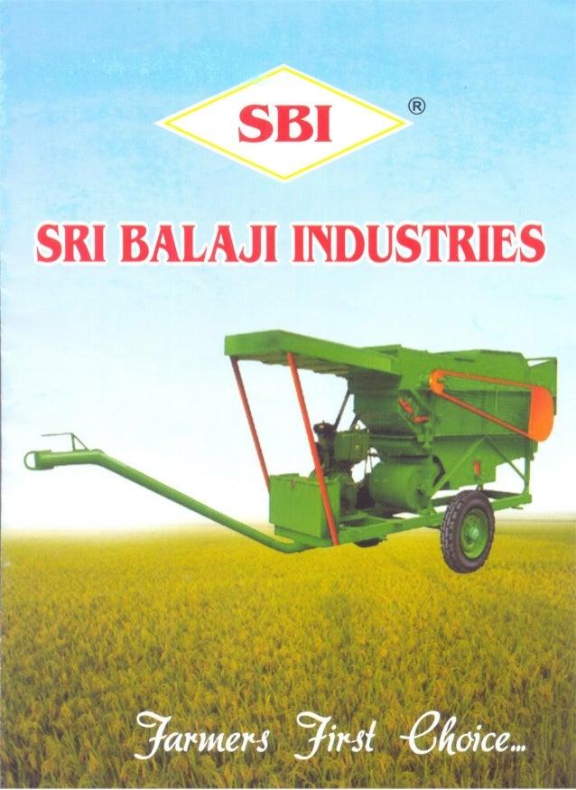 Sri Balaji Industries, Coimbatore, AGRICULTURAL MACHINES