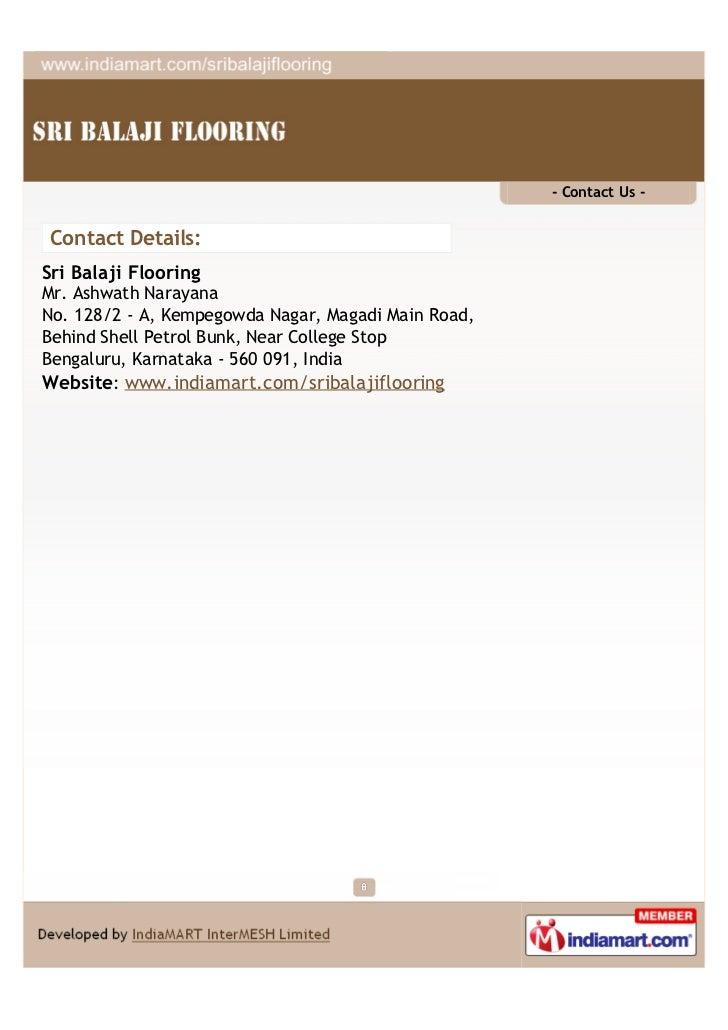 Sri Balaji Flooring Bengaluru Interlocking Paving Blocks