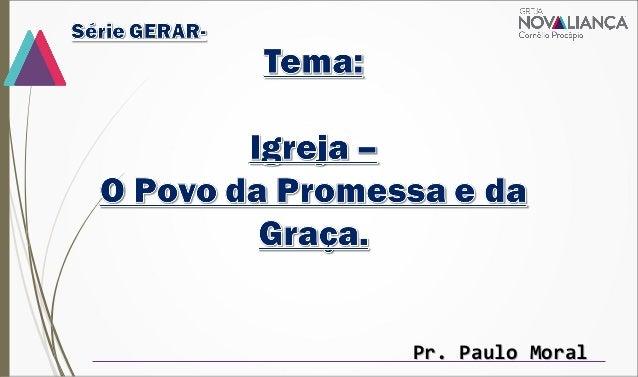 Pr. Paulo MoralPr. Paulo Moral