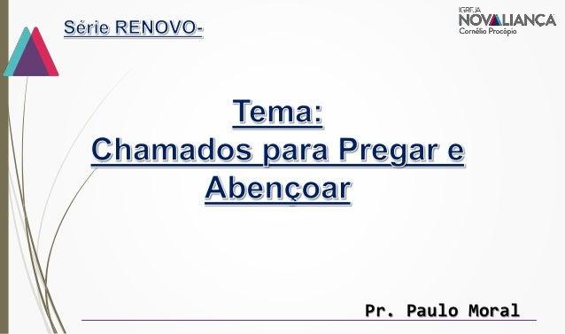 Pr. Paulo Moral