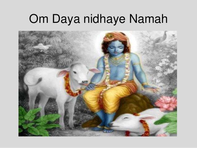 Om Daya nidhaye Namah