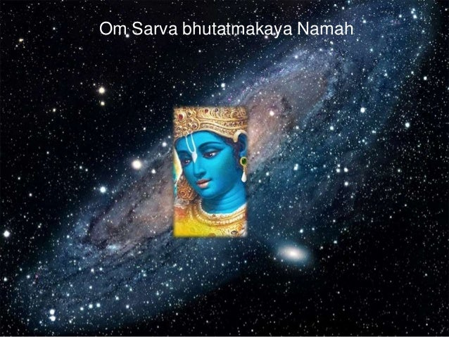 Om Sarva bhutatmakaya Namah
