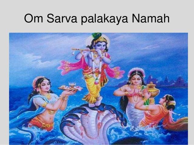 Om Sarva palakaya Namah
