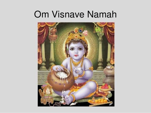 Om Visnave Namah