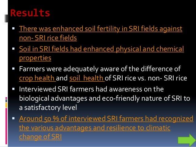 0 0.5 1 1.5 2 Organicmatter% Location SRI Non SRI