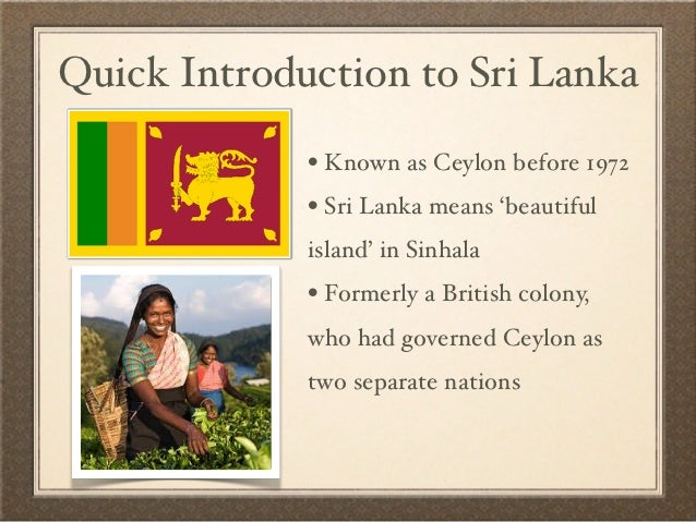 causes of conflict in sri lanka Provides an overview of sri lanka, including key events and facts about this tropical island off india's southern tip  after more than 25 years of violence the conflict ended in may 2009, when .
