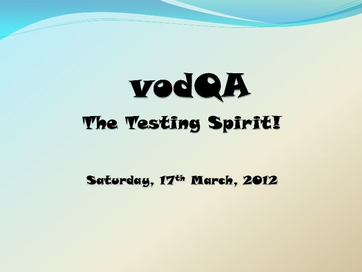 Saturday, 17th March, 2012