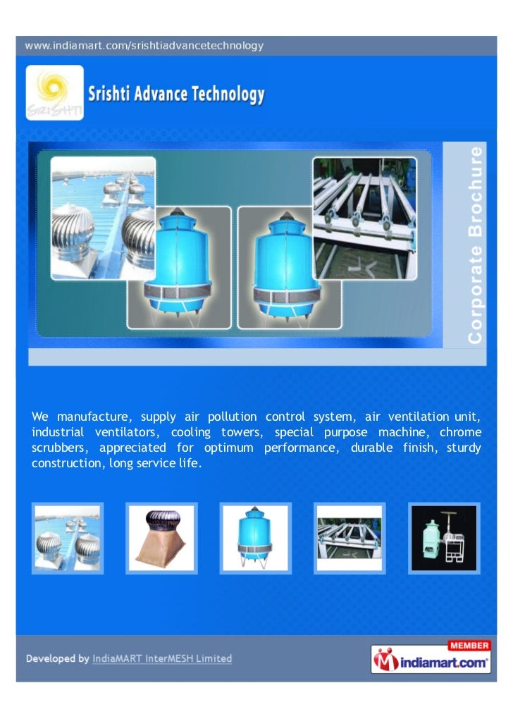 We manufacture, supply air pollution control system, air ventilation unit,industrial ventilators, cooling towers, special ...