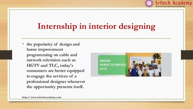 Interior Designing Course In Chennai Sritech Academy