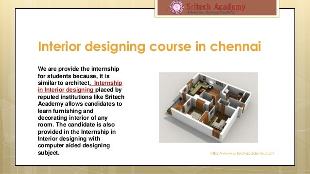 Interior Designing Course In Chennai