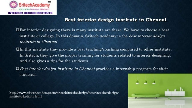 2 Best Interior Design Institute In Chennai