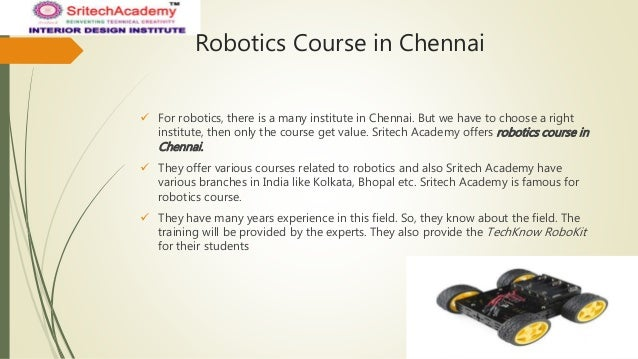 Robotics Course In Chennai