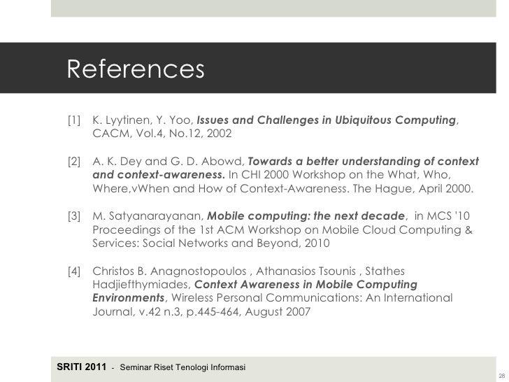 towards a better understanding of context and context-awareness pdf