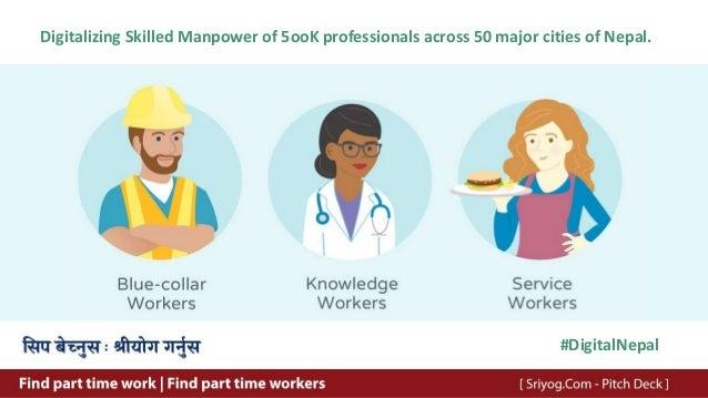 Digitalizing Skilled Manpower of 5ooK professionals across 50 major cities of Nepal. #DigitalNepal