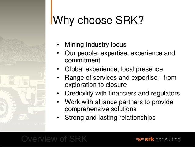 Srk Consulting Corporate Profile