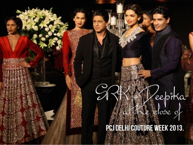 SRK + Deepika bring PCJ Delhi Couture Week to a close The PCJ Delhi Couture Week was brought to a close yesterday with Sha...