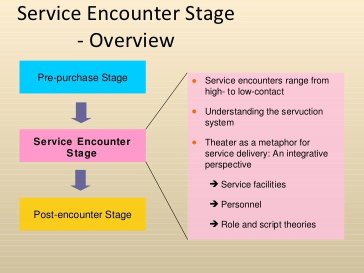 service encounter journal examples