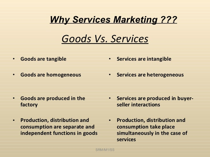 marketing for services simultaneous production and consumption