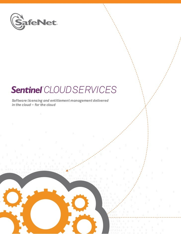 SERVICESSoftware licensing and entitlement management deliveredin the cloud – for the cloud