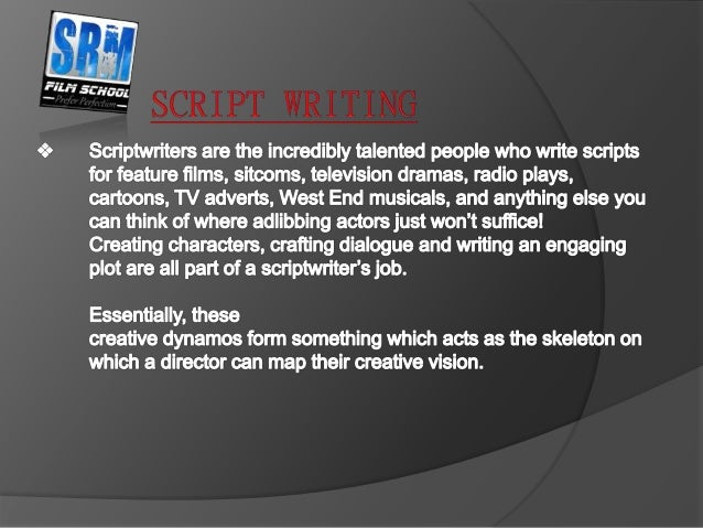 script writing degree A degree in screenwriting can prepare you for the realities of the business and give you valuable contacts- both with your peers and with industry insiders many professional screenwriters got a.