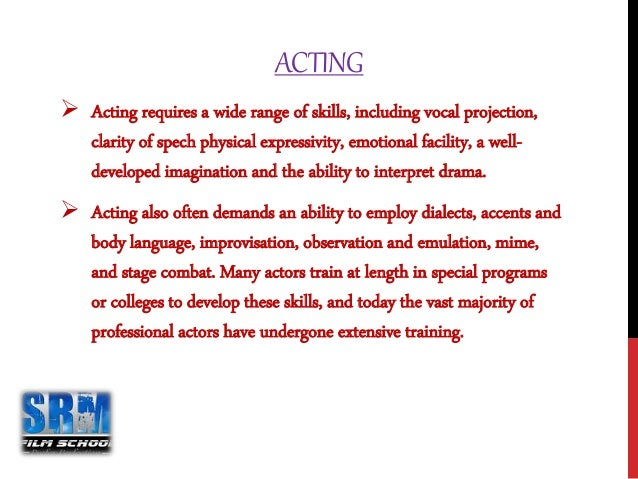 Script writing and directing courses