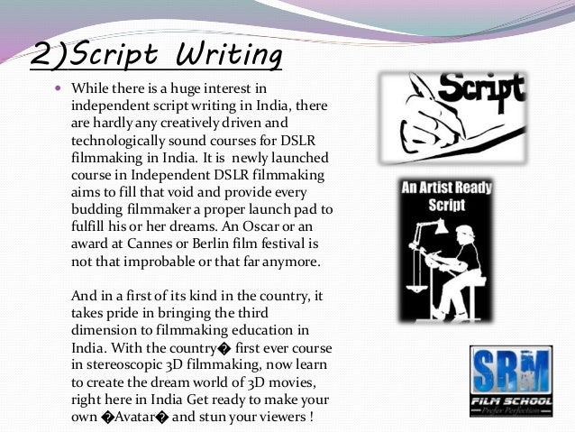script writing courses in india