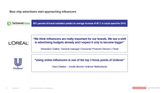 26March 2014 Social Publishing en Influencers – SRM masterclass21
