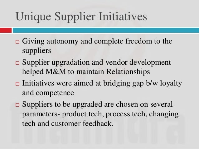 Factors determining appropriate  Supplier   Steps:   Business need analysis   Current and future spending   Cross-func...