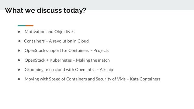 OpenStack and Kubernetes - A match made for Telco Heaven
