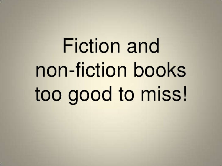 Fiction and non-fiction books too good to miss!<br />