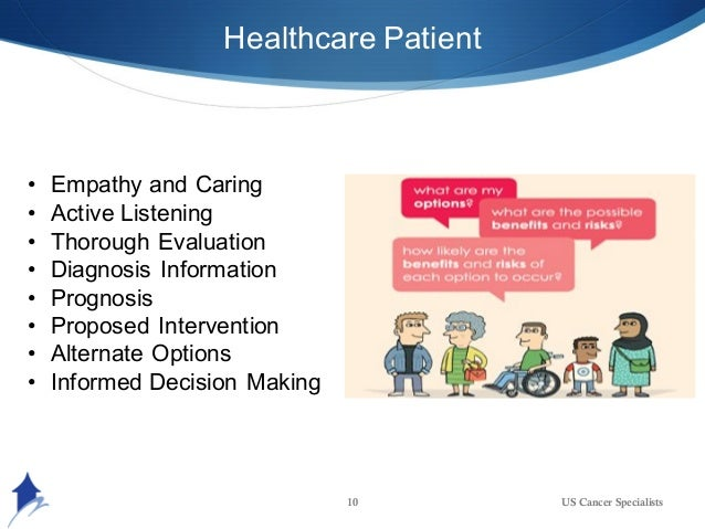 importance of empathy in patient care Very little attention has been given to the impact of the requirement for empathy  on the physicians themselves in taking care of patients.