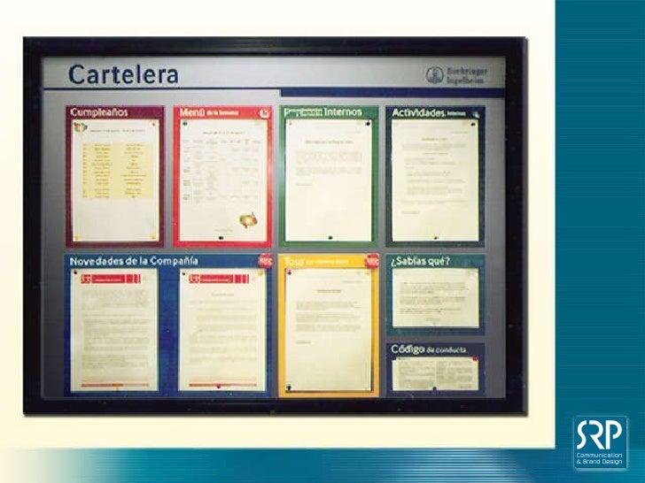 Carteleras comunicacion interna for Modelos de carteleras informativas