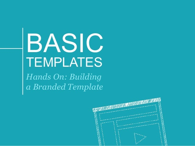 why use master slides? our webinar with presentation expert, Presentation templates