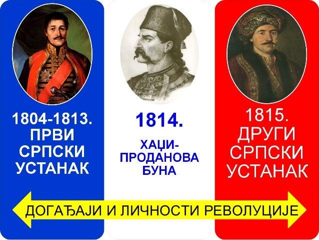 Резултат слика за srpska revolucija