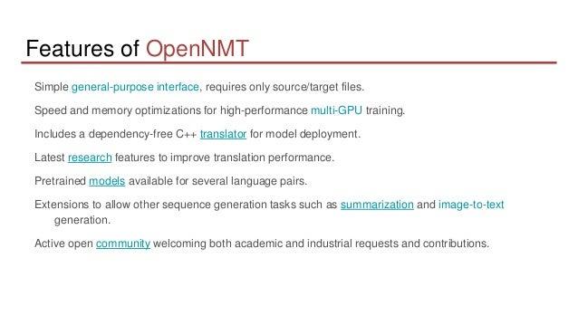 OpenNMT Slide 3