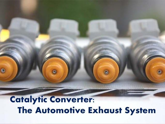 Catalytic Converter: The Automotive Exhaust System