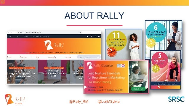 Rally: Let's Humanize the Candidate Experience Slide 2