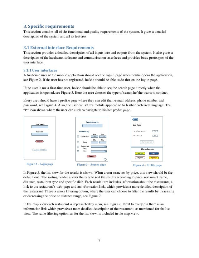 srs example Sample - software requirements specification for hospital info management system this is a srs document for hospital patient information management system where the hospital department people will store the info of the patient who has ad.