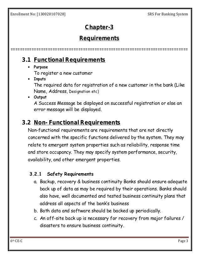 functional requirements of enrolment system National department of housing design and construction of houses  qualitative functional requirements are established b) quantitative user and technical performance criteria are provided and  typical ways of demonstrating compliance with the structural requirements type of housing system apply design and construction.