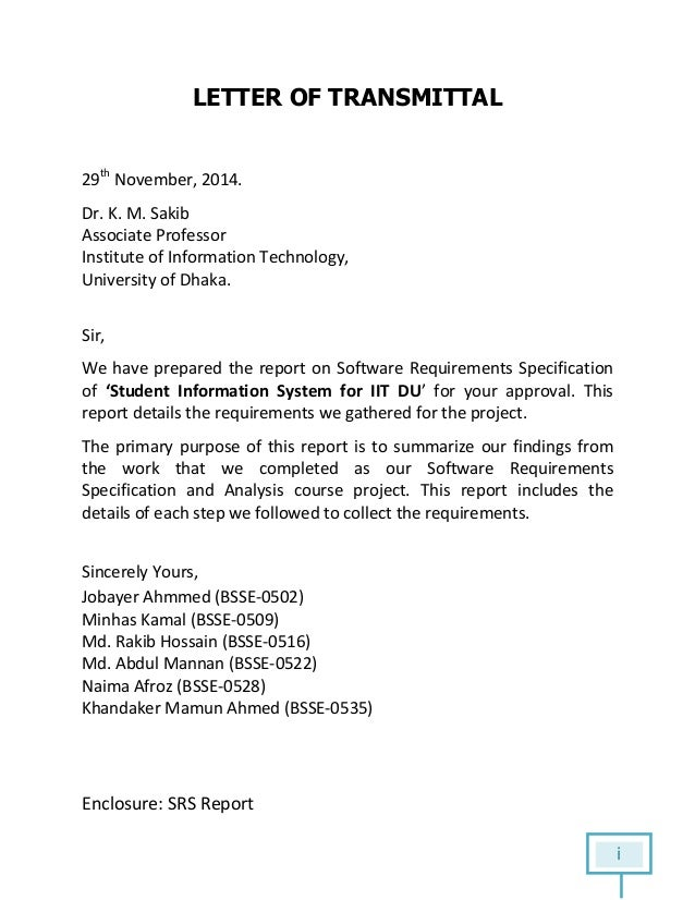 Software Requirements Specification On Student Information System (Sr…