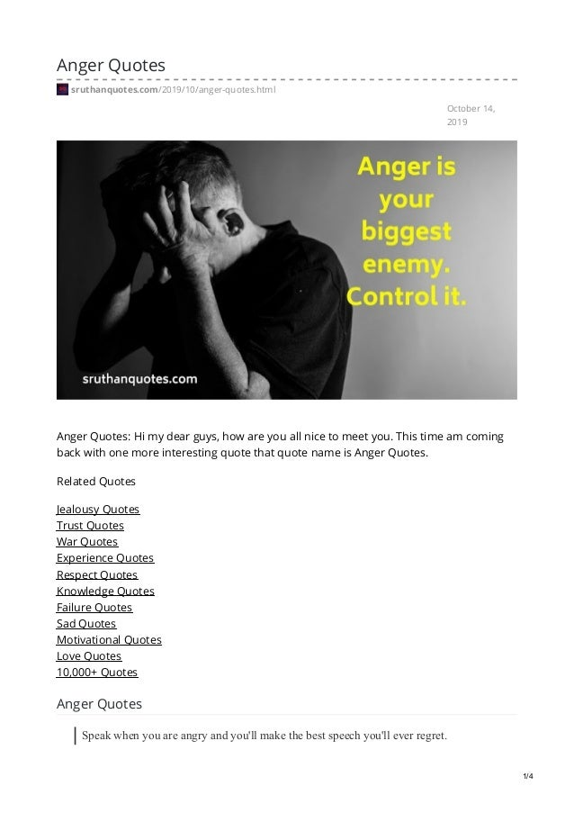 sruthanquotes com anger quotes