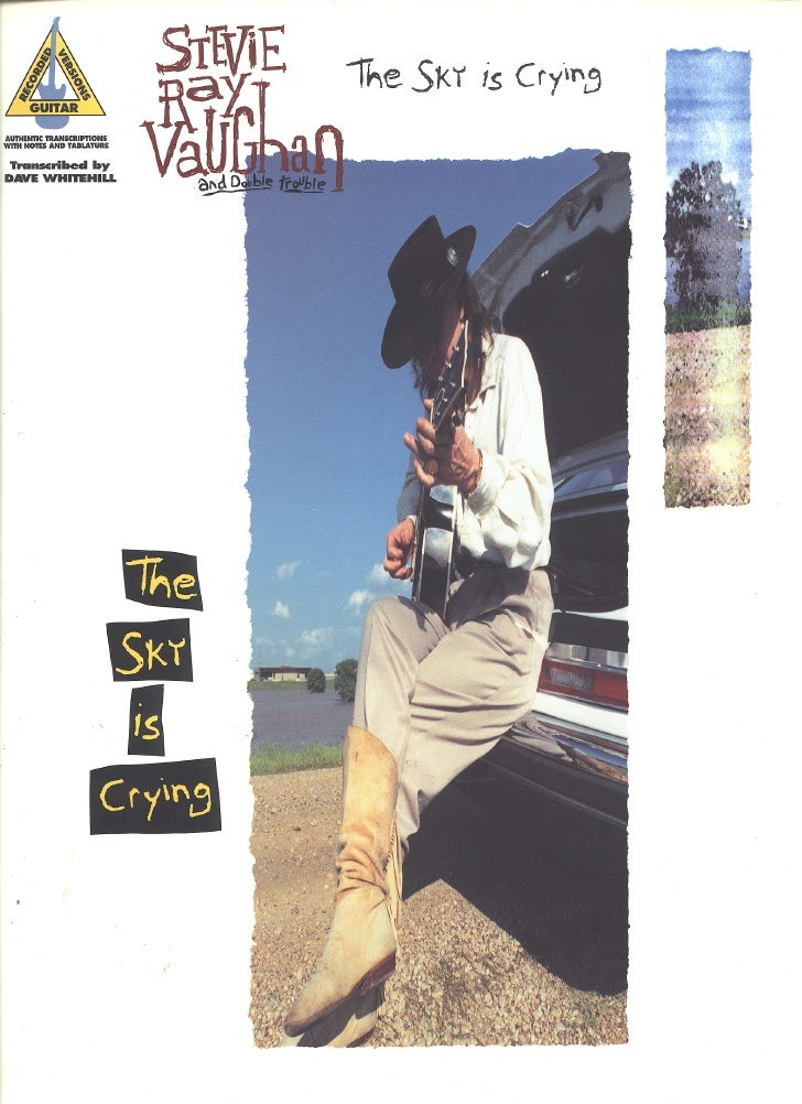 Stevie Ray Vaughan : The Sky Is Crying [Songbook]
