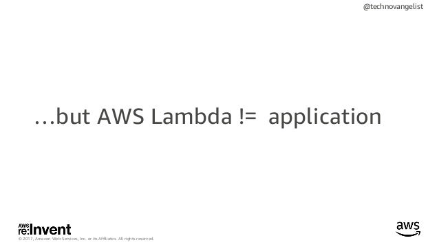 Best Practices for Orchestrating AWS Lambda Workloads